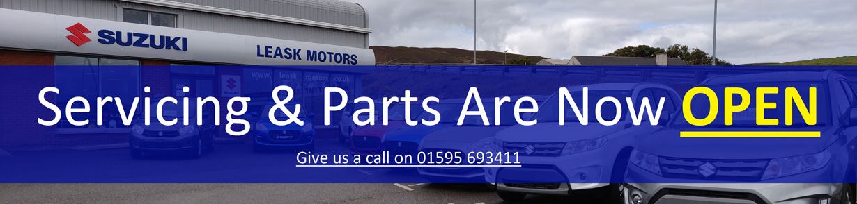 Parts and Servicing